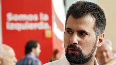 El secretario general del PSOE de Castilla y León, Luis Tudanca, a su llegada al 39 Congreso del PSOE. EFE/Sergio Barrenechea