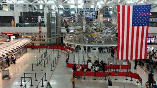 Interior del aeropuerto JFK en Nueva York.