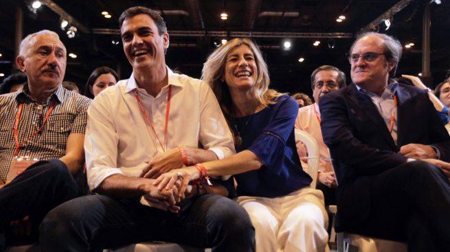 Pedro Sánchez-Begoña Gómez-39 Congreso PSOE