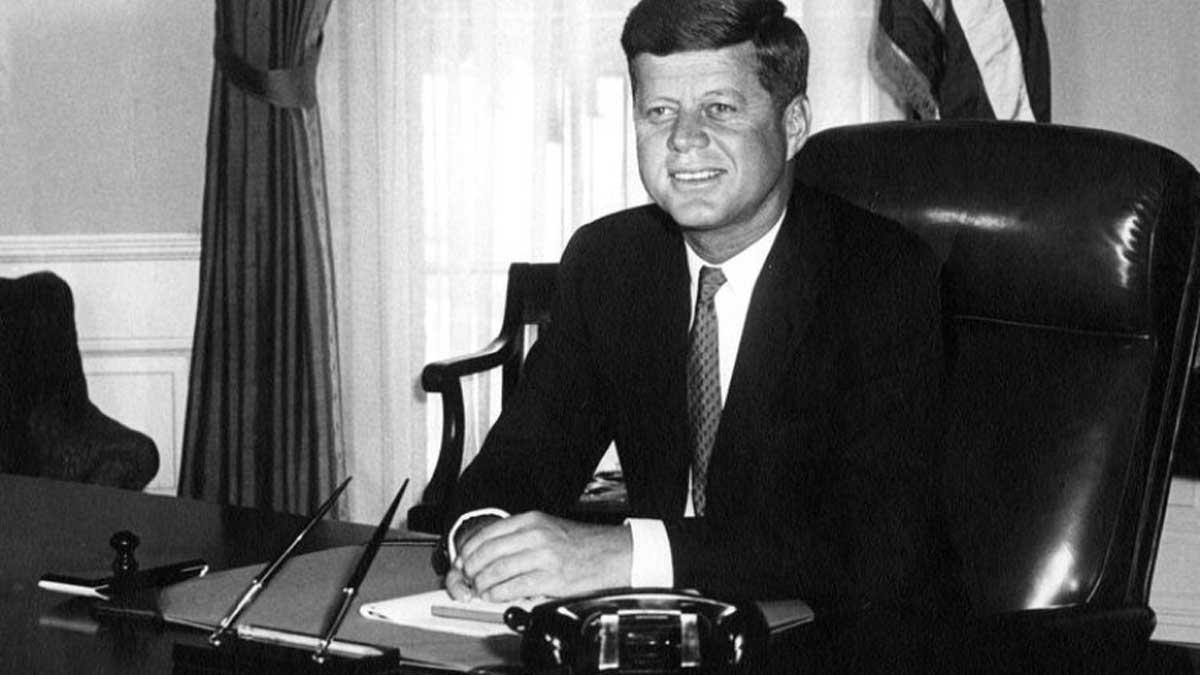 El presidente de EEUU John F. Kennedy, asesinado en 1963.