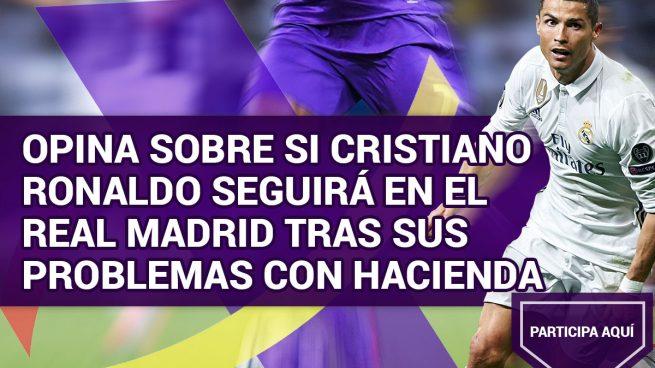 Opina sobre si Cristiano Ronaldo seguirá en el Real Madrid tras sus problemas con Hacienda