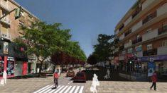 Futura calle Alcalá entre Ventas y Ciudad Lineal. (Foto: Madrid)