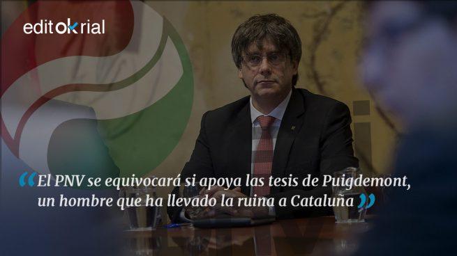 El PNV no puede ni debe hacer un 'Puigdemont'