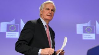 Michel Barnier press conference in Brussels
