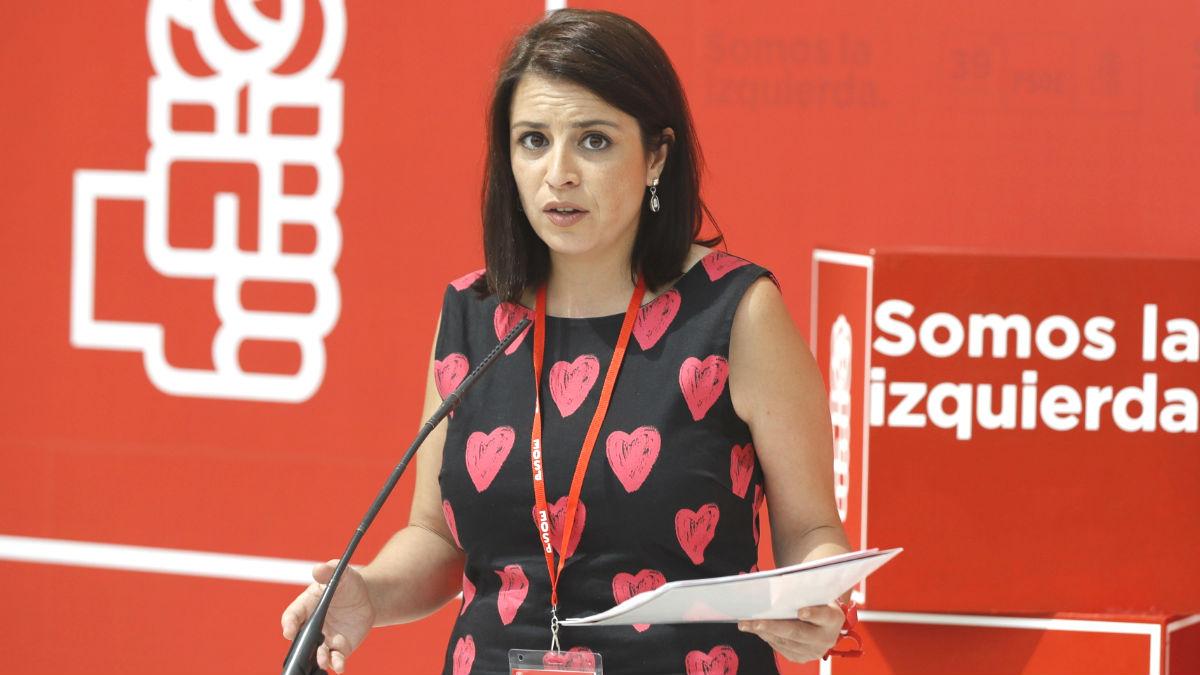 La número dos del PSOE, Adriana Lastra (Foto: Efe)