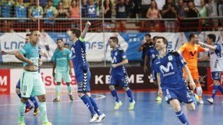 Movistar Inter, campeón de la Liga de fútbol sala (Foto: EFE)