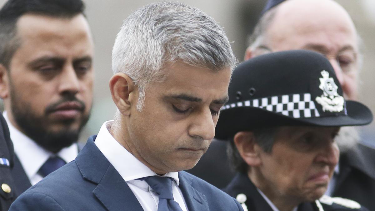 Sadiq Khan, alcalde de Londres. (Foto: AFP)
