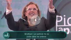 Manuela Carmena, en 'Pido la Palabra', de Canal Sur.