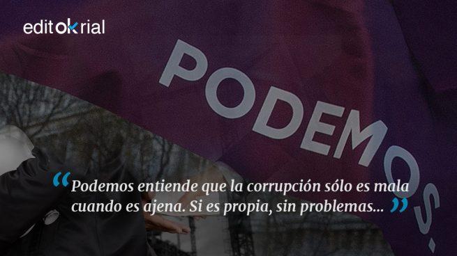 Para Podemos hay corrupción buena, la suya