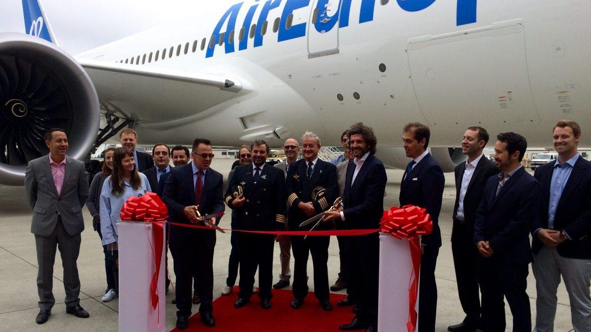 Entrega octavo Boeing Air Europa