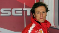 Sete Gibernau, en una de sus últimas imágenes como piloto de MotoGP. (AFP)