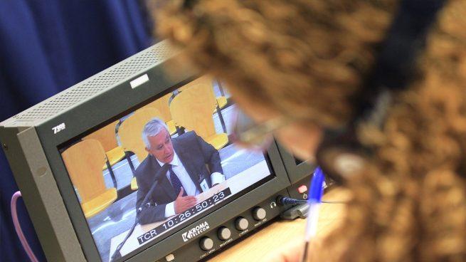 Javier Arenas en el juicio del caso Gürtel