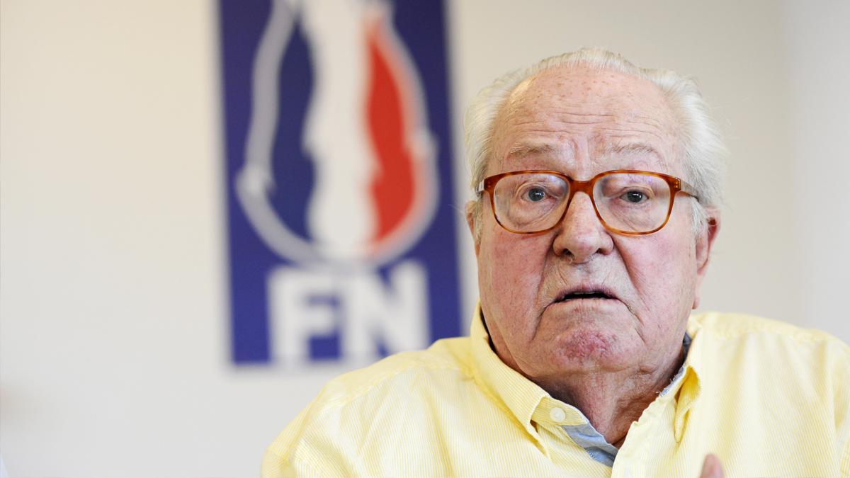 Jean-Marie Le Pen. (Foto: AFP)