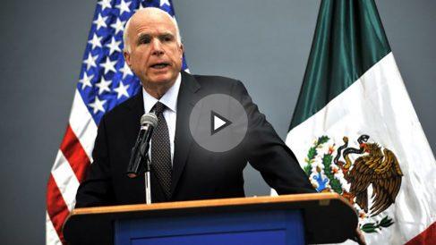 John McCain en una imagen del pasado mes de diciembre (Foto: AFP).