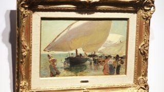 'Llegada de barcas', de Joaquín Sorolla. (Foto: EFE)