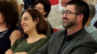 Los ediles Celia Mayer y Carlos Sánchez Mato. (Foto: Madrid)