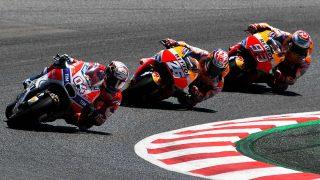 La carrera de MotoGP del próximo domingo en Assen modifica su horario habitual para evitar coincidir con la Fórmula 1. (Getty)
