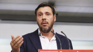 El portavoz del PSOE, Óscar Puente. (Foto: EFE)