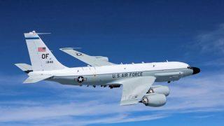 Avión americano RC-135 interceptado por Rusia en el Báltico.