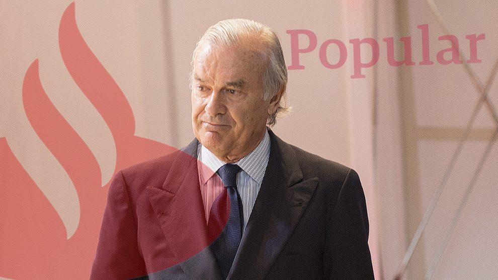 El presidente de Santander España, Rodrigo Echenique.