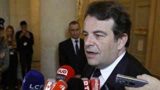 Thierry Solére, portavoz de Los republicanos en la Asamblea francesa. (AFP)