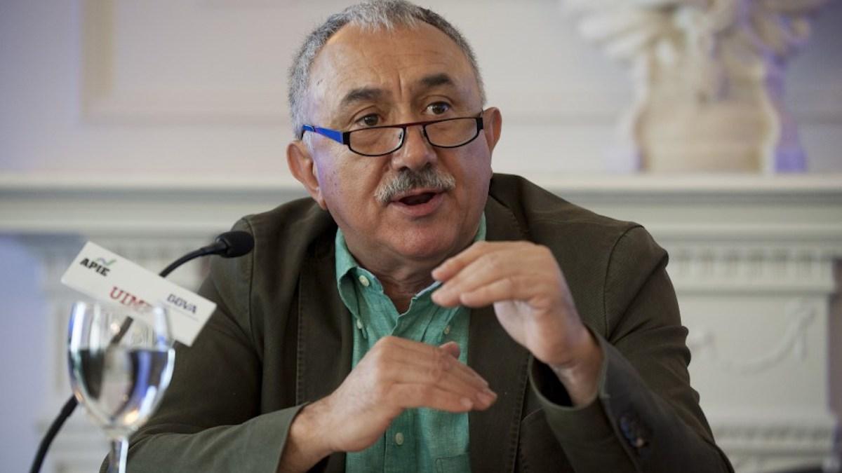 Josep María Álvarez, Secretario General de UGT. (Fuente APIE)