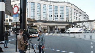 Estación central de Bruselas. (Foto: AFP)
