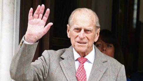 Felipe de Edimburgo, marido de la reina Isabel II.