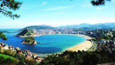 Playa de La Concha en San Sebastián (Foto. Ayuntamiento de San Sebastián)