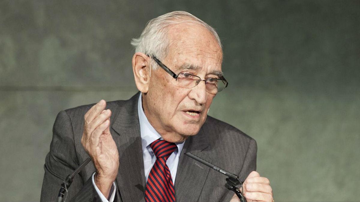 El exdirector general del Banco de España Aristóbulo de Juan.