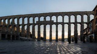 El acueducto de Segovia es el símbolo de la ciudad