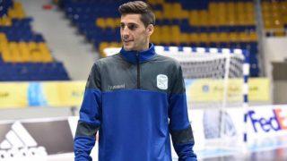 Carlos Ortiz, en un entrenamiento con Inter.