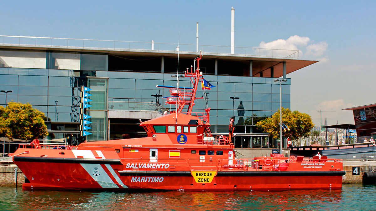 La embarcación 'Guardamar Polimnia' de Salvamento Marítimo.