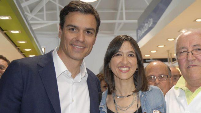 Pedro Sánchez y Núria Parlon