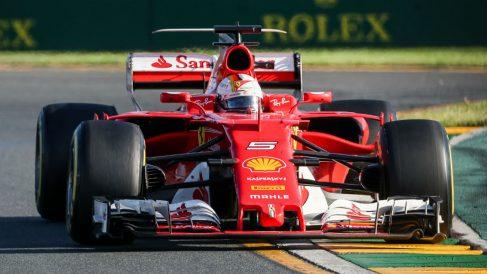 La clave del buen rendimiento que está mostrando este año Ferrari se encuentra en la buena correlación que existe entre el túnel de viento y la pista, según Rubens Barrichello. (Getty)