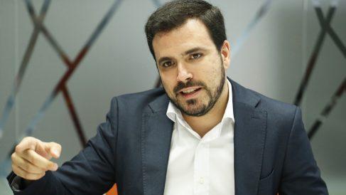 Alberto Garzón, coordinador general de IU. (Foto: EFE)