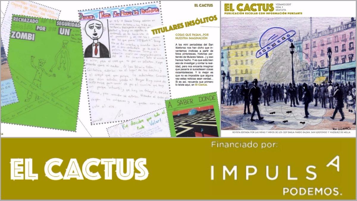 Fragmentos de la revista 'El Captus' financiada por Podemos.