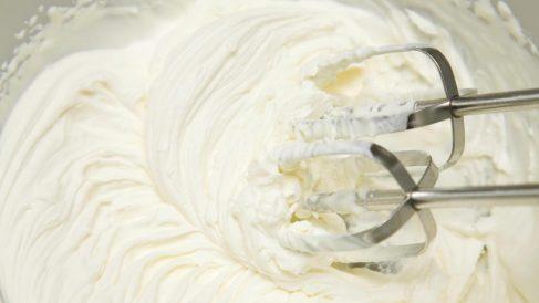 La crema Chantilly es una de las más tradicionales con nata