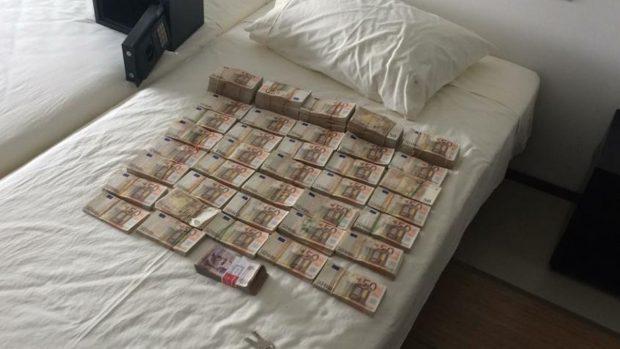 Dinero incautado en Barranquilla a la hija de Edmundo Rodríguez Sobrino (Foto: Fiscalía de Colombia).
