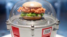 KFC lanzará una hamburguesa al espacio