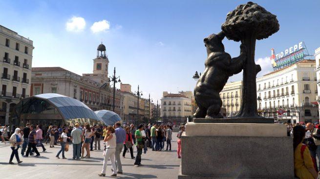 Madrid es la regi n con m s empresas establecidas durante for Puerta del sol 2017