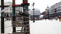 Estatua ecuestre de Carlos III en la Puerta del Sol de Madrid. (Foto: Chema Barroso)