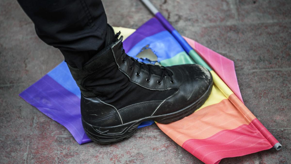 Así ha acabado el Gay Pride en Estambul. (Foto: AFP)