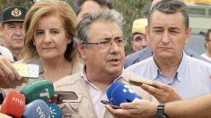 Juan Ignacio Zoido y Fátima Báñez. (Foto: EFE)