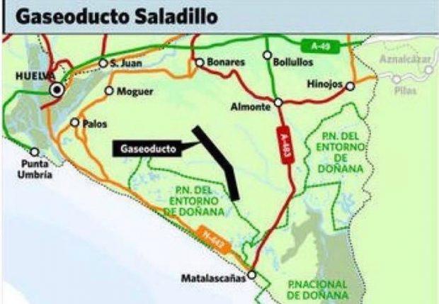 Cayo Lara sospecha de la relación entre el incendio en Moguer y el proyecto Marismas de Gas Natural