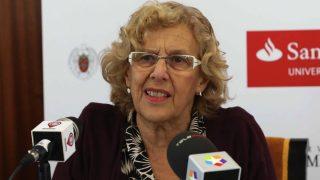 La alcaldesa Manuela Carmena (Foto: Madrid)