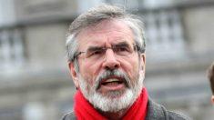 Gerry Adams, ex presidente del Sinn Féin, brazo político del extinto grupo terrorista IRA.