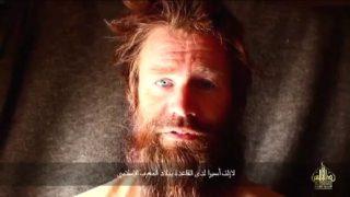 Johan Gustafsson, durante su cautiverio en Mali.