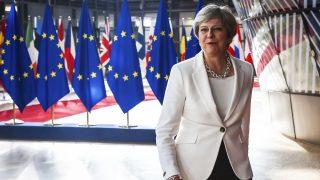 Theresa May, primera ministra de Reino Unido (Foto: AFP)