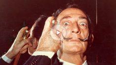 El artista Salvador Dalí, fallecido en enero de 1989. (Getty)